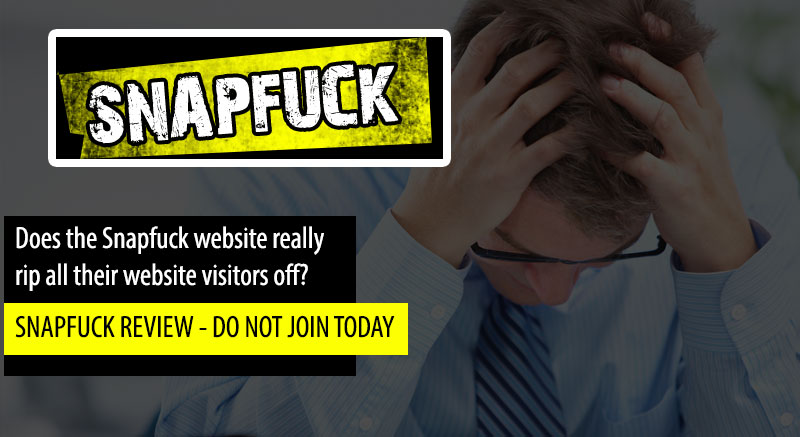 snapfuck site scam