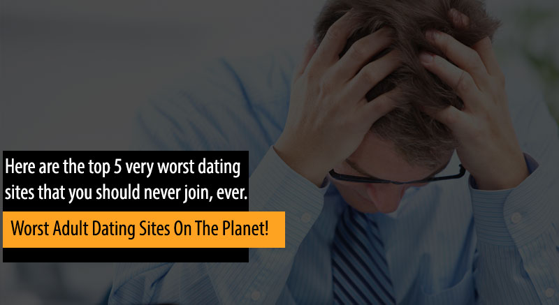 guy regrets joining the worst adult dating sites