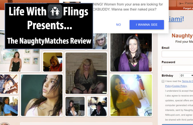 naughty matches homepage