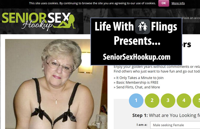 Senior Sex Hook Up homepage