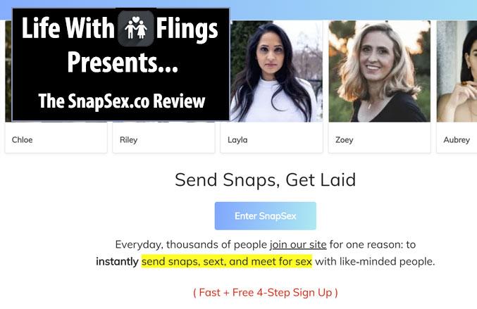Snap Sex homepage