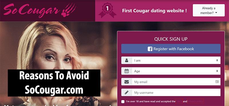 Avoid So Cougar